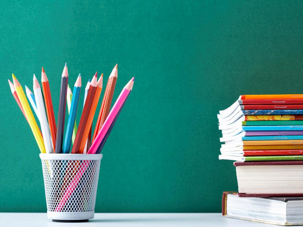 Libri e colori a scuola